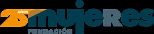 Logo 25 aniversario Fundación Mujeres